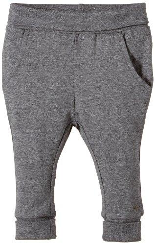 Noppies Unisex - Baby Hose U Pants Jersey Reg Picolo, Einfarbig, Gr. Neugeborene (Herstellergröße: 56), Grau (Anthracite Melange)