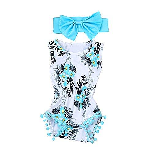 Knowin-baby body Pom-Pom Kleid mit Blumenmuster für Mädchen Baby-Body Für Jungen und Mädchen mit Motiv Spruch Alles Gute zum Baby Shirt Vatertag Papa
