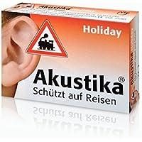 AKUSTIKA Holiday Windschutzwolle+Lärmschutzstöp. 1 P preisvergleich bei billige-tabletten.eu