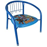 Arditex Kinderstuhl - Stuhl - Metallstuhl Kinder mit Disney Motivauswahl (Paw Patrol)