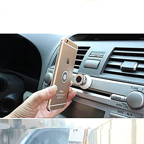 Universale 360gradi Supporto Supporto Magnetico Adesivi auto per iPhone e