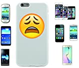 Teléfono Móvil 'lustless cara' para Apple Samsung- LG- Huawei- Sony- HTC/Teléfono celular tapa para iPhone 4,5,6,7- Galaxy s2,3,4,5,6,7- -- p9- con Smiley- Emoji Sony XPERIA Z 5