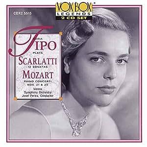 Maria Tipo Joue Mozart & Scarlatti