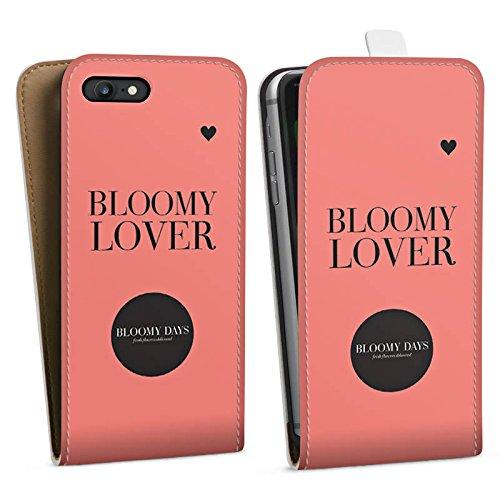 Apple iPhone X Silikon Hülle Case Schutzhülle Blumen Liebe Sprüche Kreis Downflip Tasche weiß