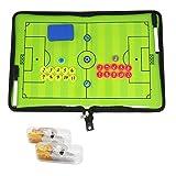 Carpeta para entrenador profesional de fútbol con tácticas,  imanes,...