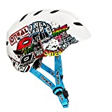 Oneal Dirt Lid Youth Junkie Casco Bicicleta, Niños, Blanco, S