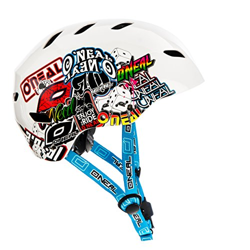 Oneal Dirt Lid Youth Helmet Junkie White S (47-48 cm) Fahrradhelm, Kinder, Weiß, S