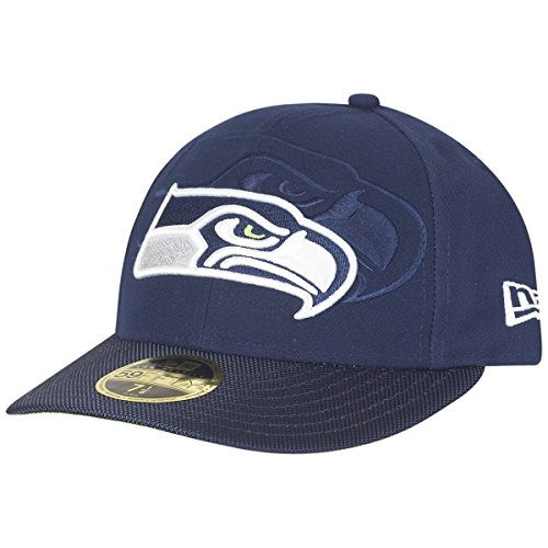 New Era 59Fifty LOW PROFILE Cap - SIDELINE Seattle Seahawks (Baseball-hüte Low-profile)