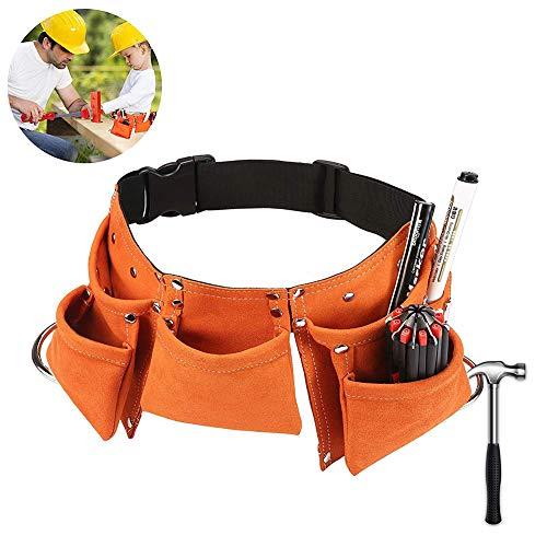 Tofree Kinder-Kleidertasche mit Gürtel, verstellbar, strapazierfähig, für Rollenspiele, Orange, Einheitsgröße
