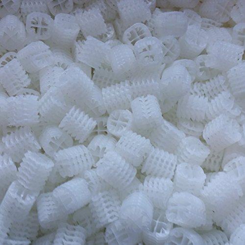 Hel-X-25-Liter-17-KLL-Filtermaterial-Filtercarrier-Filtermedium-Helix-Biocarrier-Teichfilter-Koi-Teich-Aquarienfilter-Bio-helx-filter