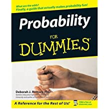 [PROBABILITY FOR DUMMIES] by (Author)Rumsey, Deborah on Apr-04-06