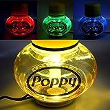 Poppy Lufterfrischer Vanille mit 7 Farben LED Multicolor-Beleuchtung 12V 24V für LKW KFZ Auto Wohnwagen Inhalt 150 ml