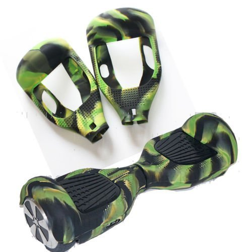 Schutzhülle aus Silikongel für 6,5Zoll (16,5cm) Hoverboards / Scooter mit 2 Rädern, camouflage-design