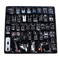Home Sewing Parts 42 Piece Presser Foot Sew Accessories Press Feet For Brother Singer Toyota Domestic Sewing Machine