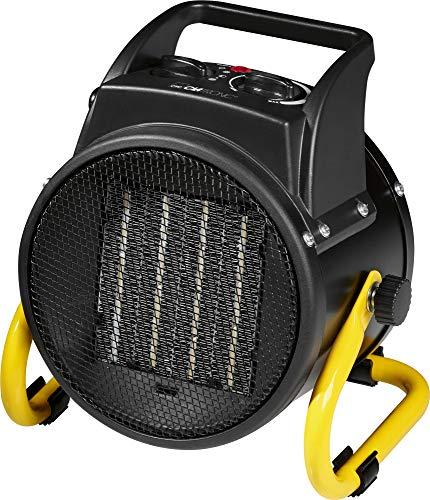 Clatronic HL 3651 Latronic Calefactor de Aire Caliente Cerámico, 2 Niveles de Temperatura, 1000/2000...