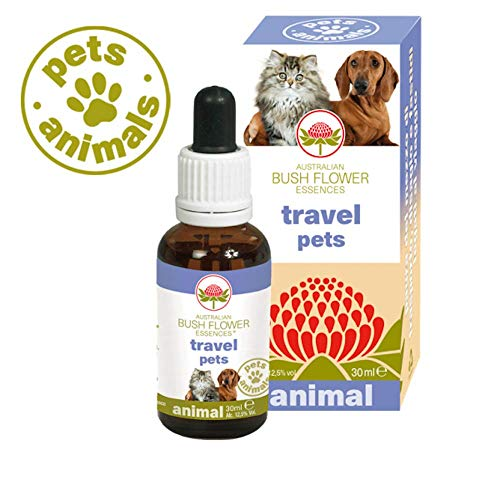 Australian Bush Flower Essences Travel Pets 30 ml - Universe Pets