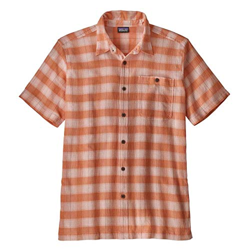 Patagonia Herren M's A/C Shirt Hemd, Helles Pfirsich-Sorbet, S -