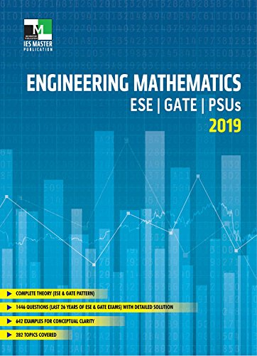 Engineering Mathematics : ESE, GATE, PSUs 2019