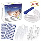 Sumyer Anti Snoring Solution, Snore Stopper Devices-Included 20 Nose Strips, 8 Nasal Dilators