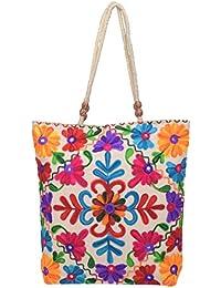 Holi Fashion Girls' Sling Bag (White) - B01KO8RZNC