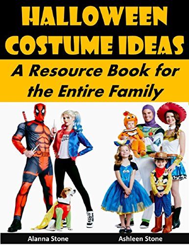 Halloween Costume Ideas: A Resource Book for the Entire Family (Holiday Entertaining 22) (English Edition)