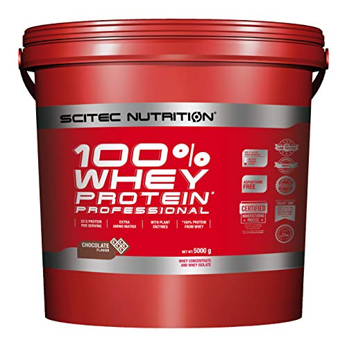 Scitec Nutrition PROTÉINE 100% Whey Protein Professional, chocolat, 5000 g