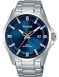 Pulsar Herren-Armbanduhr Sport Analog Quarz Edelstahl PS9505X1
