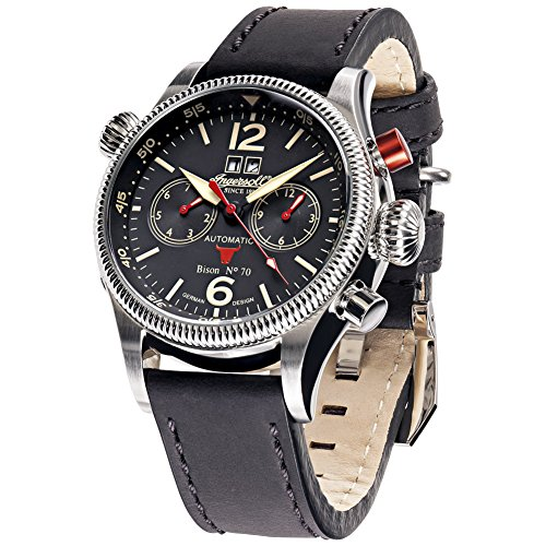 Ingersoll Armbanduhr Bison N0.70 - IN3225BK