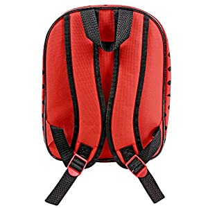 51qyBIpb5iL. SS300  - PERLETTI - Prodigiosa Las Aventuras de Ladybug y Chat Noir Pequeña Mochila de Niña para Escuela Guarderia - Bolso…