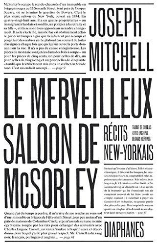 Le merveilleux saloon de McSorley, récits new-yorkais