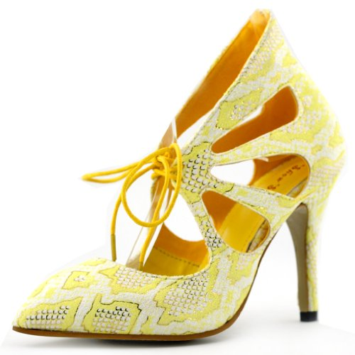 Show Story , Ballet femme Jaune - jaune