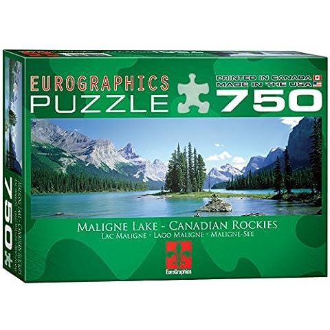 Eurographics Maligne Lake Canadian Rockies Puzzle (750 Pieces)