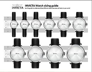 Invicta 0931 - Reloj de pulsera hombre, color negro