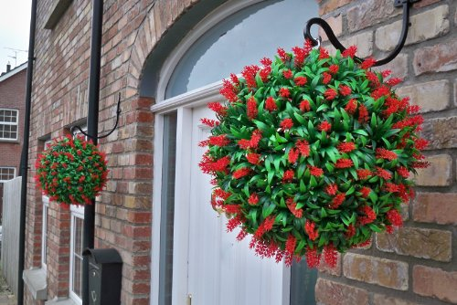 2-mejor-artificial-40cm-lush-red-long-leaf-hanging-flower-balls-topiary-hierba