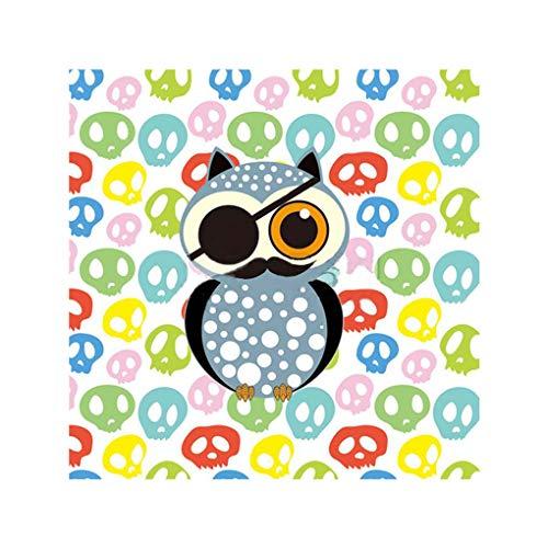 Minzhi 5D Strass DIY Halloween-Mädchen Cat Spinne Owl Painting-Kreuz-Stich-Diamant-Stickerei-Näharbeit-Geschenk Bürodekoration