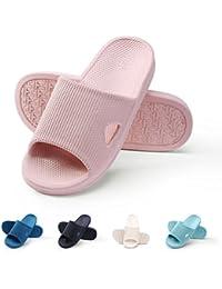 WILLIAM&KATE Spring Summer Unisex House Slipper Casual Antideslizante Zapatillas de Baño Sandalia Suave y Ligera Zapatillas Para Interior y Exterior Para Parejas