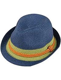 Sombrero De Mujer Sombrero De Sol Elegante Sombrero De Paja Fácil De  Igualar Sombrero De Verano a731e14f9801