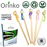 Oriculi en Bambou 5x - Cure Oreille Écologique pour Remplacement Coton Tige | Design Original