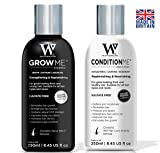 Hair Growth Shampoo and Conditioner by Watermans – Combo Pack – Can reduces hair loss