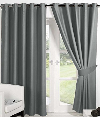 check MRP of gray curtains Italian Fab