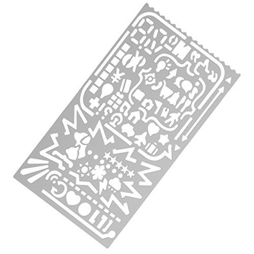 regle-metal-signet-dessin-outil-pochoir-enfant-artisanat-bricolage