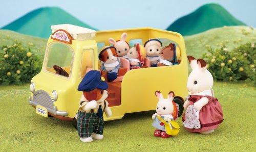 Imagen principal de Sylvanian Families 2634 - Autobús escolar con accesorios