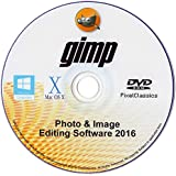 GIMP 2015 Photo Editor Professional Premium Image Editing for PC Windows 10 8 7 Vista XP & Mac OS X