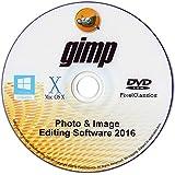 Photo Editing Software 2015 Photoshop CS5 CS6 Compatible for PC Windows 10 8 7 Vista XP & Mac OS X