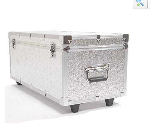 HWAMART ® alluminio Flycase caso mosca Photo Portable studio di qualità Attrezzatura per illuminazione di caso con ruote