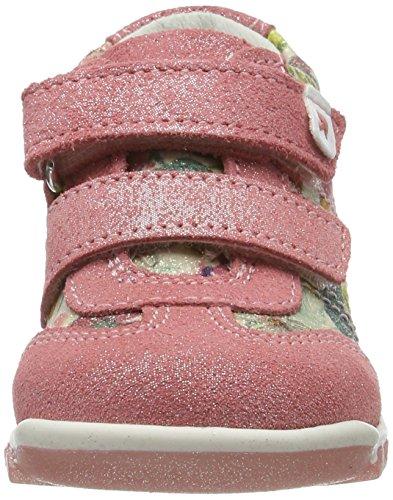 Primigi Pbn 7057, Chaussures Marche Bébé Fille Rose (Geran/panna Mul)
