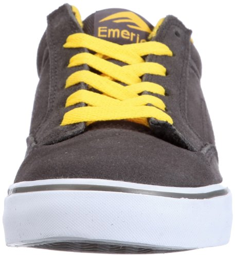 Emerica JINX SMU 6107000078, Sneaker uomo Gris (Grau (Grey/Yellow))
