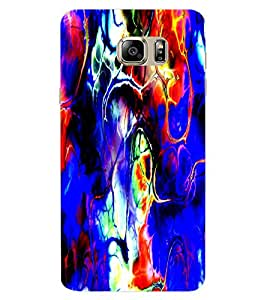 ColourCraft Abstract Image Design Back Case Cover for SAMSUNG GALAXY NOTE 6