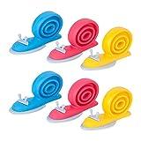 Fermaporta baktoons -- lasciate che il vostro bambino giocare più a suo agio, rendere la tua casa comoda o accedere al vostro ufficio sala facilmente. Caratteristiche:- Il fermaporta sono realizzati in gomma di alta qualità, porta progetto t...