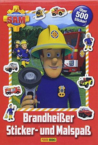feuerwehrmann sam malbuch Feuerwehrmann Sam: Brandheißer Sticker- und Malspaß: über 500 Sticker